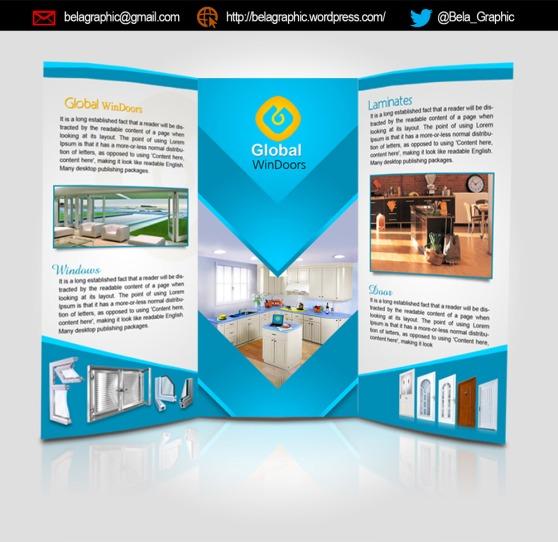Global-Windoors-Brochure-Design