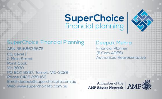 SuperChoice-Financial-Planning-Bisniess-Card